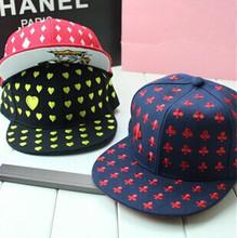 2014 New Sample Poker Baseball Cap Embroidery Kings Women & Men Cool Hip Hop Hat Adjustable