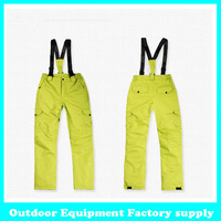 Dropshipping popular in Russian Best Ski Pants Outdoor Snowboard Fishing Hiking Suspenders Trousers Top quality snow pants women
