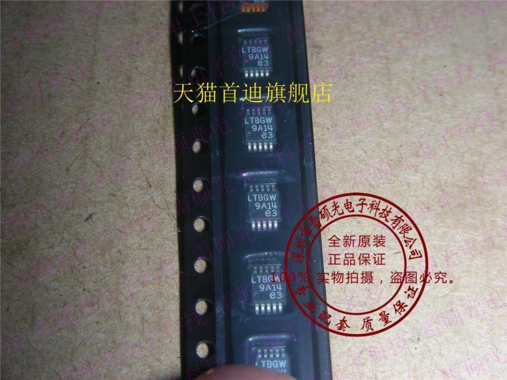 New home furnishings LTC1407 LTC1407ACMSE - 1 code: LTBGW spot(China (Mainland))