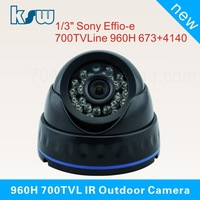 Sony 2040 CCD 700TVL Night Vision Color IR Indoor Dome CCTV Camera Home Security Camera