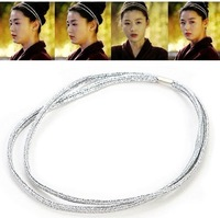 Best Sale ! Fashion New Style Exquisite Korean Fashion Shiny Elastic Hair Band!#ftchen_110102193