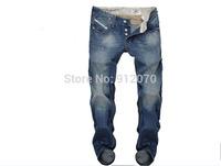 Free shipping fashion jeans,man jeans famous brand 100%cotton wholesale 8005