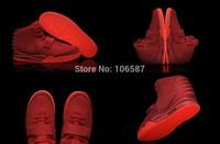 5 Colours New Model Kanye West Air Yeezy II 2 Red October Glow In Dark Women Men's Basketball Sport Footwear Sneaker Shoes