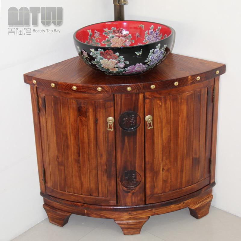 Popular Pine Bathroom VanityBuy Cheap Pine Bathroom Vanity lots from China P # Wasbak Kast_002857