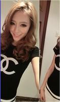 (Premium Edition) M-XXL Plus Size 2014 Fashion Cotton Elastic Tees Slim Was Thin short-sleeved  Women's Basic T-shirt Tops