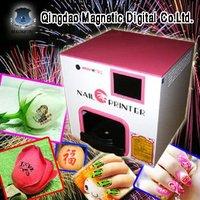 digital fashion nail art printer 5 nails one time