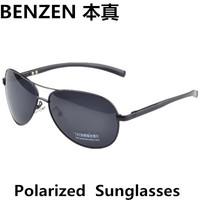 2014 Men sunglasses Polarized  Sunglasses driver driving  glasses aviator sunglasses oculos  with case black 2050A
