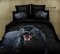 new black panther leopard 3d active prints duvet doona cover sheet pillowcases set queen bedding set lady girl gift