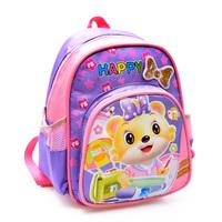 Shoulders kindergarten baby satchel cute Korean children cartoon bags for  boy  and  girl     free  shipping