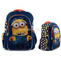2014 Despicable Me children cartoon Minions emochilas bag backpack for kids children school bags mochilas school kids D37