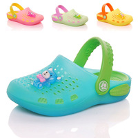 new 2014 summer children shoes boys hole shoes girls Sandals baby toddler shoes kids slippers child cute candy color jelly shoes