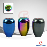 WLR STORE- 5 Speed (M10*1.5) Racing Five Speed Car Shift Knobs (Buring or Chrome plating or Titanium)