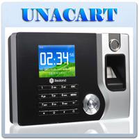 "Realand 2.4"" Fingerprint Time Attendance System ID Card Reader Tracking Employee"