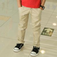 Yigenisi New Kids boy pants casual pants pants cotton trousers feet long pants spring great quality
