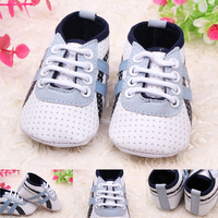 1pair New fashion 2015 Breathable baby boy tennis shoes indoor soft sole shoes first walker High quality