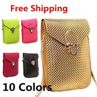 Free Shipping Women Shoulder Bags Fashion women's handbag mobile phone bag small wallets coin purse shoulder cross-body bags