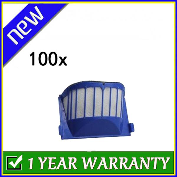 New Blue Aero Vac Filter for iRobot Roomba 500 Series 536 550 551 552 564 ,100-PACK(China (Mainland))