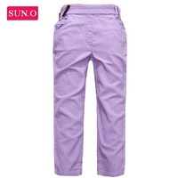 2014 NEW HK SUNO girl pant solid color high quality girls legging baby and kids girls pant windbreaker children pants