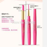 12pcs/lot brand pink dark red lipstick Lip liner Pencil color lips lip gloss high quality waterproof makeup