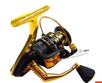 TOKUSHIMA HK3000 4000 5000 6000metal fishing reel 5.2:1 11+1 Ball bearing Parallel line winding spinning fishing reels