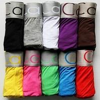 Men's underwear boxers 10pcs lot Cotton cuecas masculinas boxer Sexy men Boxer Shorts Men Underpants size M/L/XL/XXL new 2014