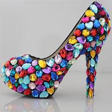 popular shoes rhinestone