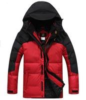free shipping men's down jacket , 2014 man outwear hooded coat down parkas for men 280