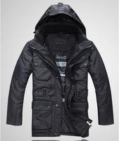 free shipping down jacket mens deep color down parka man winter jacket 190