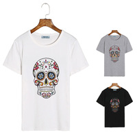 2014 print 100% male cotton o-neck short-sleeve T-shirt