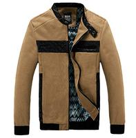 2014 Hot Spring Autumn Men'S Dimensional Cut Coat Short Paragraph Slim Jacket Men'S Stitching Brand Jacket Men'S Outwear XG-72