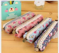 New! Free shipping! pencil / pen bags fabric pen bags 4 colors
