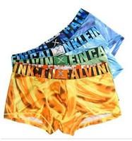 Fashion elegant hot sale air ice silk sexy men boxer shorts men's boxers mens underwear mens boxer shorts swimming trunks 2015