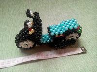 Diy handmade acrylic beaded crafts handmade finished beads motor finished product