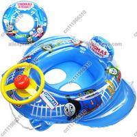 Thomas Friends Baby Kid Toddler Newborn Infant Child Boy Girl Swim Swimming Pool Boat Ring Raft Float Tube Seat Aid Trainer Toy