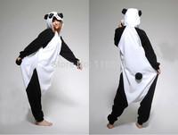 Free Shipping Adult Animal Kigurumi Onesies Cosplay Costume Panda Pyjama Pajamas Sleepwear Jumpsuit Hoodies Unisex