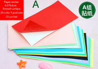 Free shipping DHL wholesale paper sticker DIY paper Embossing match mixed color 15 set/lot