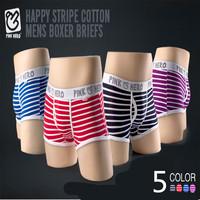 Top Quality 100% cotton boxers Men Boxers 10pcs/lot Mens Underwear Pink Hero Trendy Underwear Boxer Shorts Trunk Free shipping