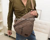Free Shipping 2014 fashion design men waist pack canvas bag