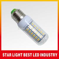 High quality Book light 220V 18w E27 SMD 5730 LED corn bulb lamp 56 LEDS 5730 E27 Warm white /white led lighting,free shipping