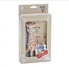 A borracha natural Girafa mordedor Vulli Sophie Bebê teehers dentição seguro(China (Mainland))