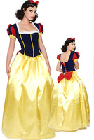 free shipping Adult Snow White Princess New Fancy Dress Costume Sexy Ladies costume  size S-2XL
