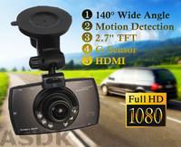 NEW! 1920*1080P FULLHD Car cam DVR, G30 Novatek 96220 Car record, black box, 2.7 lcd+6IR Night Vision+G-Sensor+Motion Detection