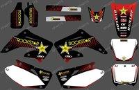 (DRAGON 0162) TEAM GRAPHICS & BACKGROUNDS kits FOR HONDA CR125 CR250 2002 2003 2004 2005 2006 2007 2008 2009 2010 2011 2012