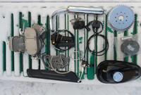 80CC GAS Motor Bicycle 2-Stroke Engine Kit Motorized Bike/bicycle engine kit