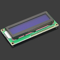 Free shipping! Top Sale 1PC1602 LCD (Blue Screen) LCD with Backlight of The LCD Screen 51 Learning Board Supporting 16x2 LCD