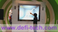 1.2m *0.83m width WHITE  adhesive Smart Film / Switchable Glass