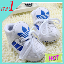 New 2014 ! Spring and Autumn Baby Brand First Walkers Kids Shoes Newborn Boys & Girls Antiskid Canvas Sneakers Free shipping(China (Mainland))