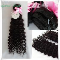 4pcs lot 100% unprocessed virgin brazilian human hair deep wave bundles,queen hair products brazilian deep curly virgin hair