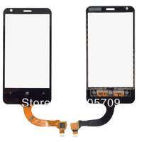 Black Touch Digitizer Screen Glass Replacement  For NOKIA LUMIA 620 N620 B0265 P
