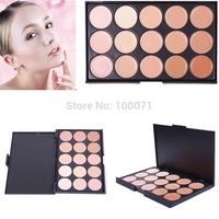 2014 New Pro Salon Party Makeup 15 Color Concealer Eyeshadow Palette Contour Face Cream # 57322